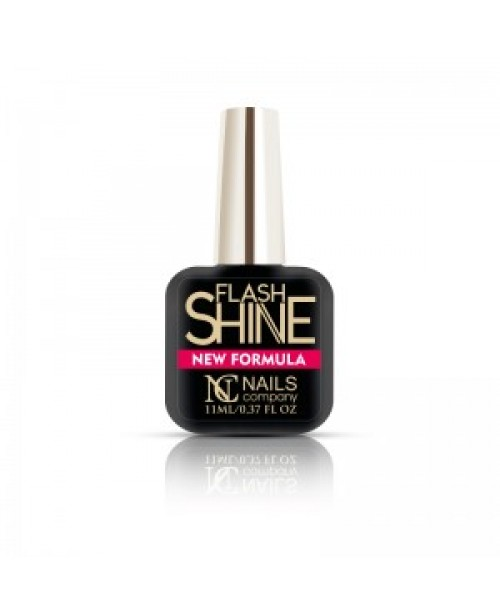 Nc Nails Flash Shine Top No Wipe 11ml