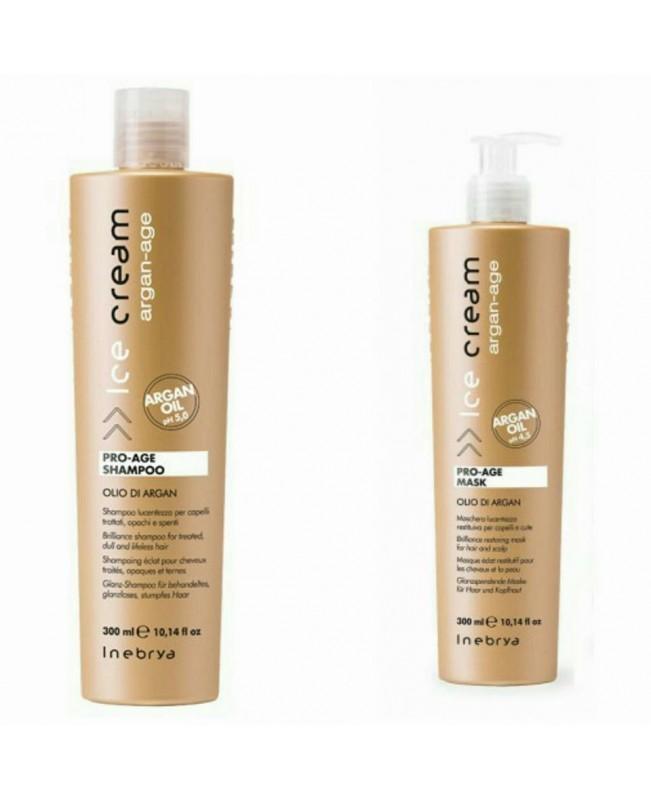 Inebrya Italy Pro-Age Αrgan Oil Shampoo300ml