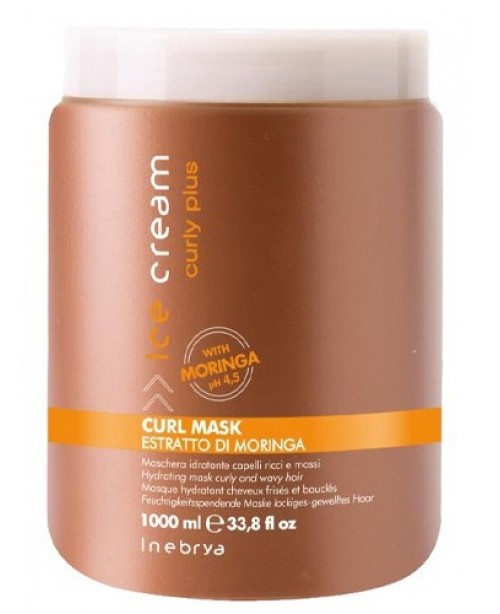 Inebrya Italy Curly Plus Mask 1000ml