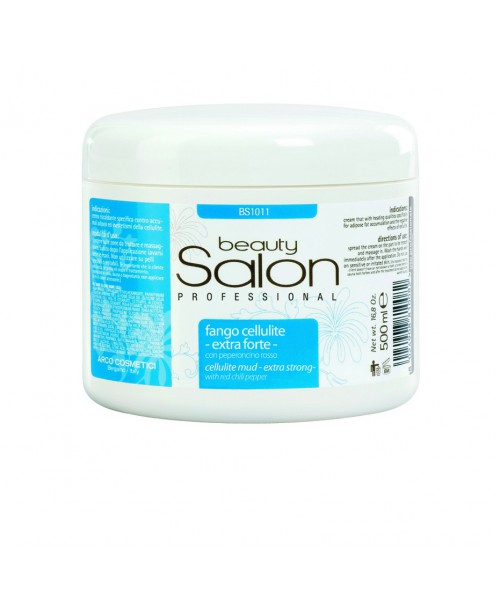 Beauty Salon Cellulite Mud – Extra Strong- with red Chilli Pepper 500ml