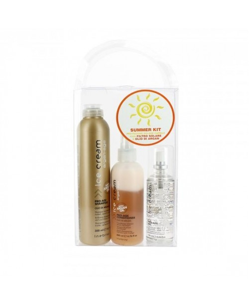 Inebrya Italy Summer Kit with Αrgan Oil