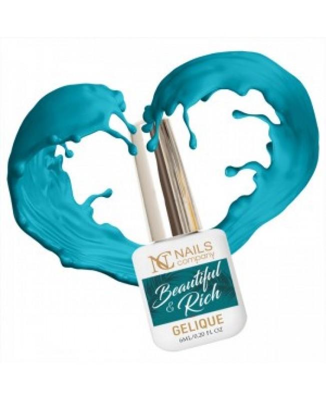 Nc Nails Ημιμόνιμα Χρώματα Beautiful & Rich 6ml