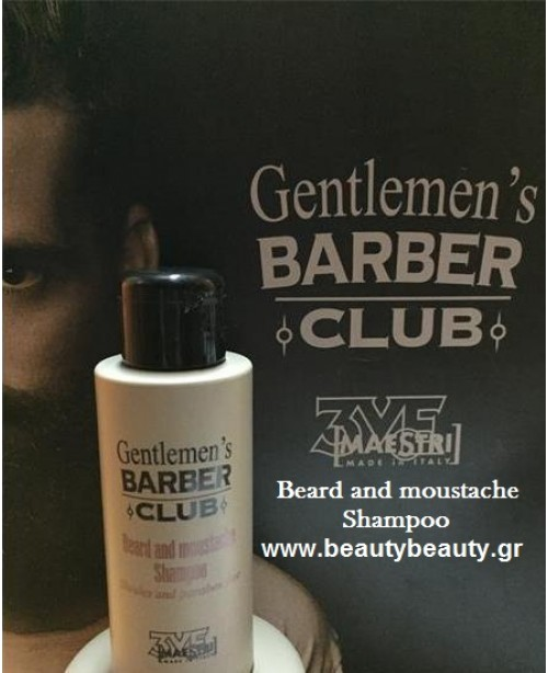 Gentlemen's Barber Club 3VE Italy Beard and Moustache Shampoo 100ml