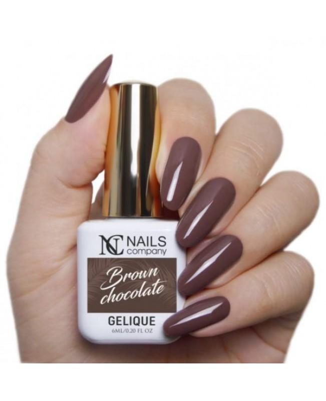 Nc Nails Ημιμόνιμα Χρώματα Brown Chocolate 6ml
