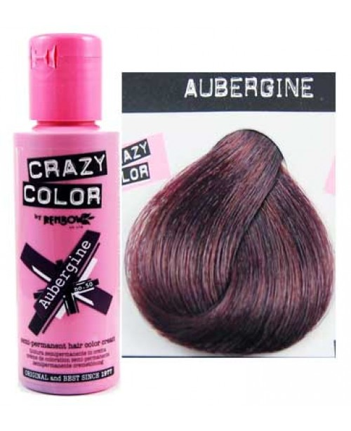 Crazy Color 100ml Aubergine