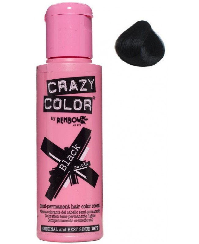 Crazy Color 100ml Black