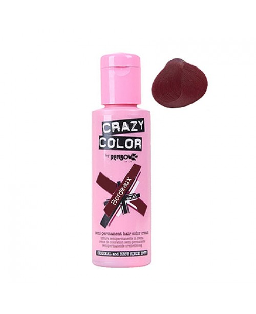 Crazy Color 100ml Bordeaux