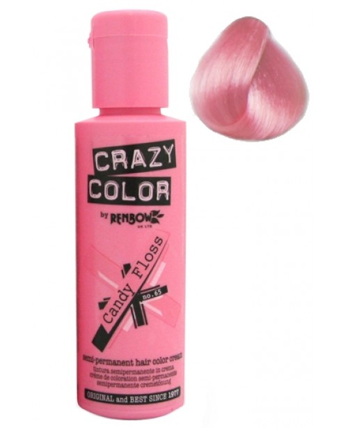 Crazy Color 100ml Candy Floss