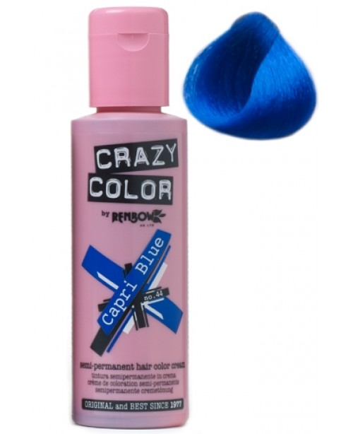 Crazy Color 100ml Capri Blue