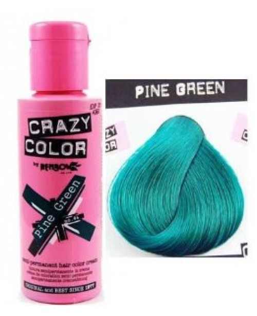 Crazy Color 100ml Pine Green
