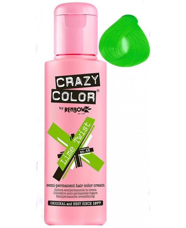 Crazy Color 100ml Lime Twist