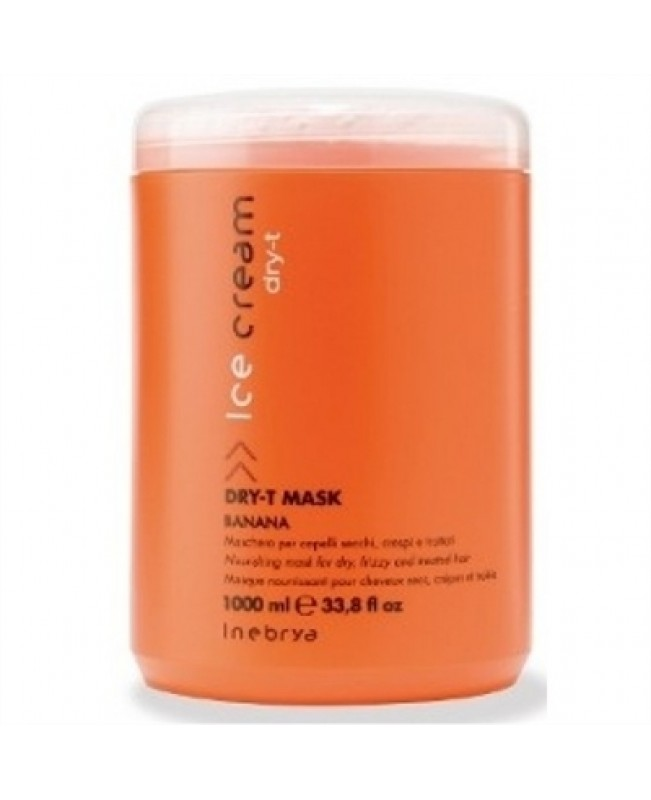 Inebrya Italy Dry-T Restructuring Mask for dry and frizzy hair 1000ml