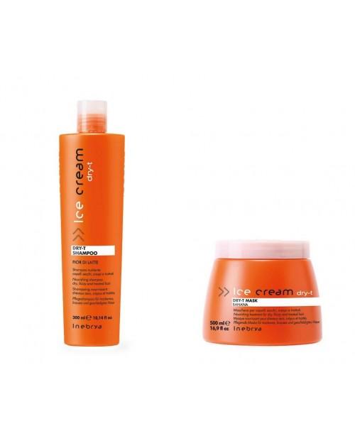 Inebrya Italy Dry-T Restructuring Shampoo+mask 300ml