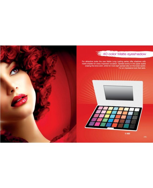 40 COLOR MATTE EYESHADOW PALLET REF.820