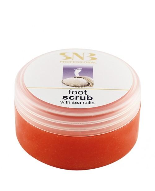 SNB Professional Foot Scrub with Sea Salts 300ml