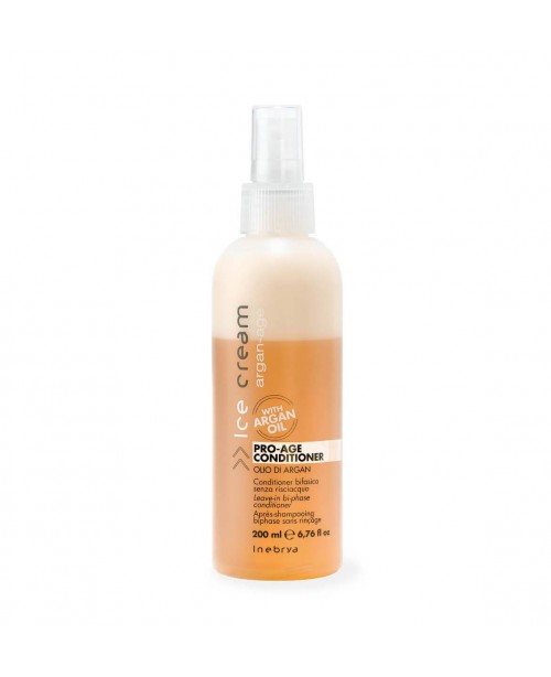 Inebrya Pro-Age Bi-Phase Conditioner with Argan Oi...