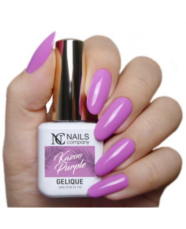 Nc Nails Ημιμόνιμα Χρώματα Kazoo Purple 6ml