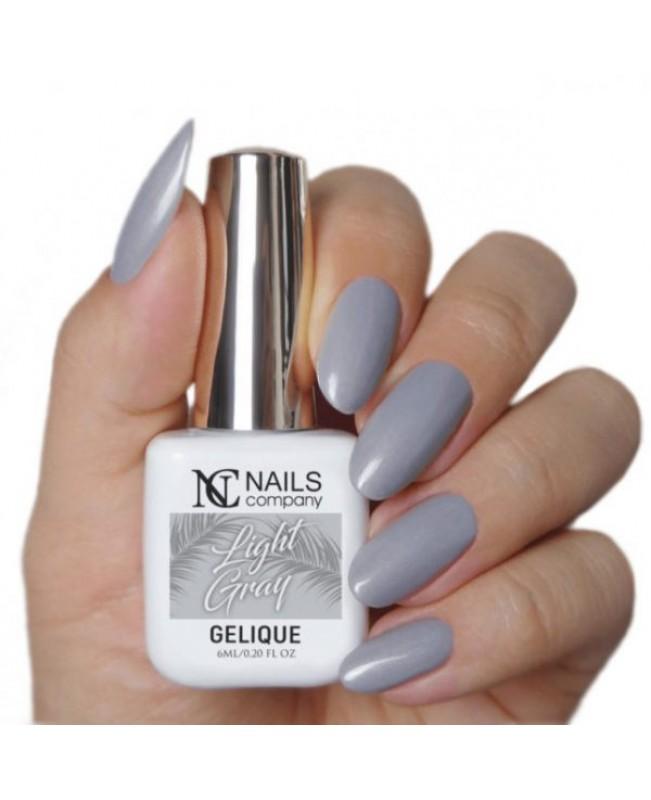 Nc Nails Ημιμόνιμα Χρώματα Light Gray 6ml