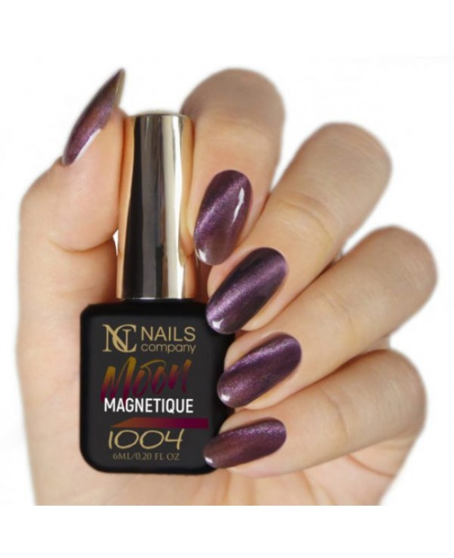 Nc Nails Ημιμόνιμα Χρώματα Magnetique Moon 1004 6ml