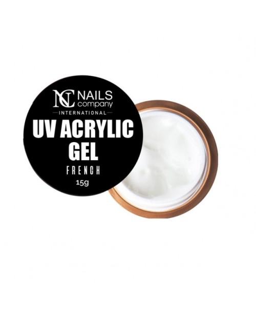 NC Nails Acrylic Gel French  15gr