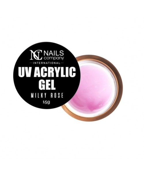 NC Nails Acrylic Gel Milky Rose  15gr