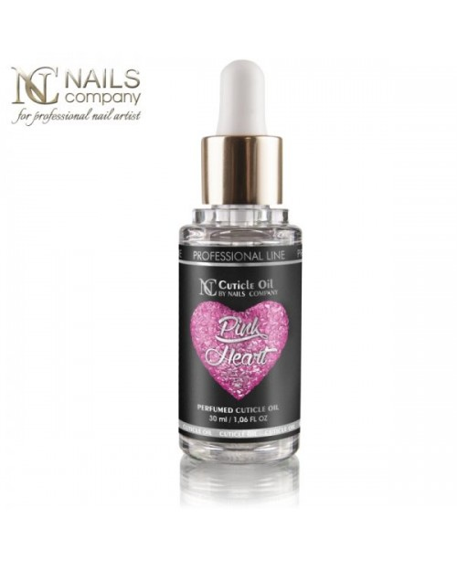 NC Nails Pink Heart Cuticle Oil 15ml