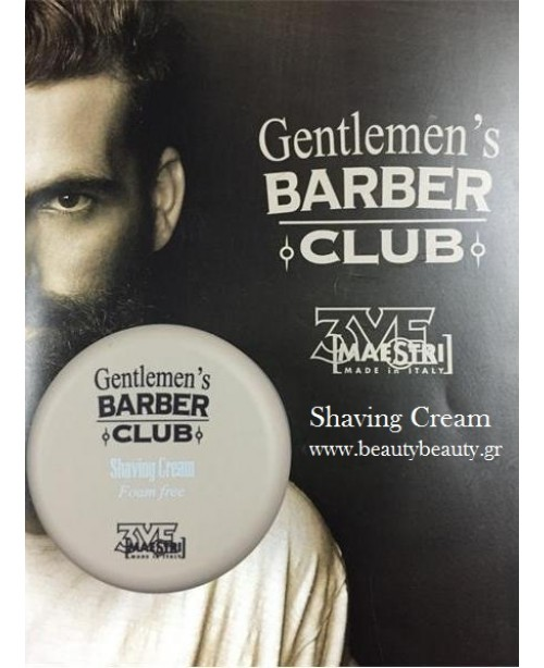 Gentlemen's Barber Club 3VE Italy Shaving Cream Foam Free 125ml
