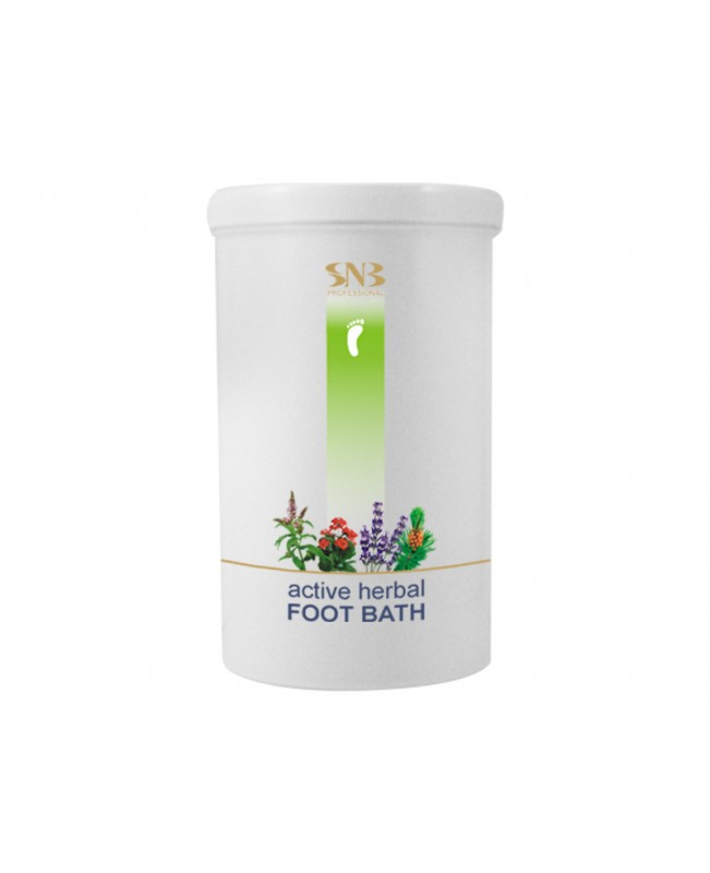SNB Professional Active Hrbal Foot Bath 900gr