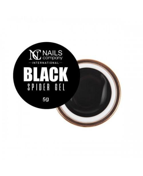 NC Nails Spider Gel Black 5gr