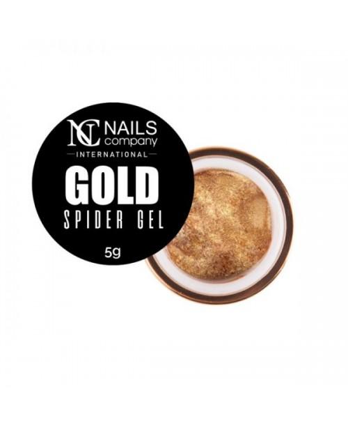 NC Nails Spider Gel Gold 5gr