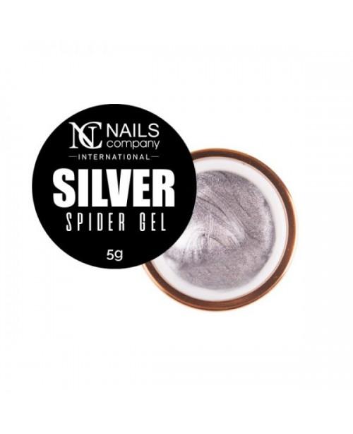 NC Nails Spider Gel Silver 5gr