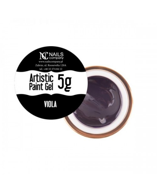 NC Nails Artistic Paint Gel Viola 5gr