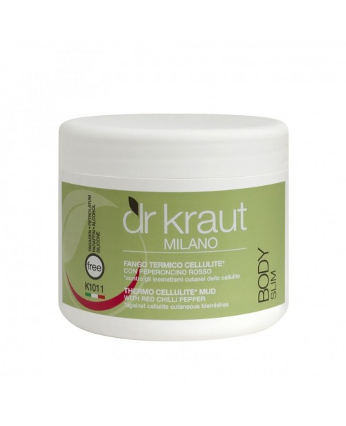 Dr Kraut Milano Thermo Cellulite Mud with Red Chilli Pepper 500ml