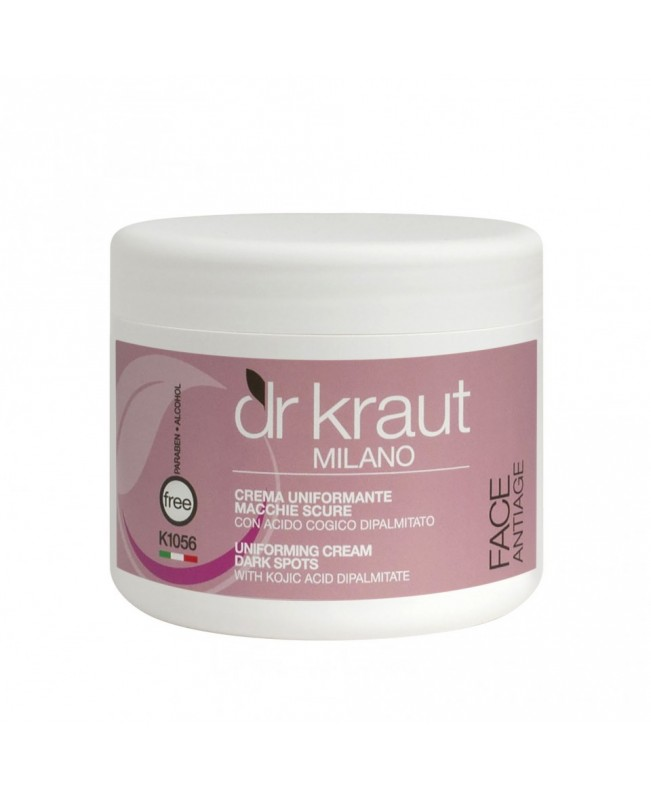 Dr Kraut Milano Uniforming Cream Dark Spots  with Kojic Acid Dipalmitate 50ml