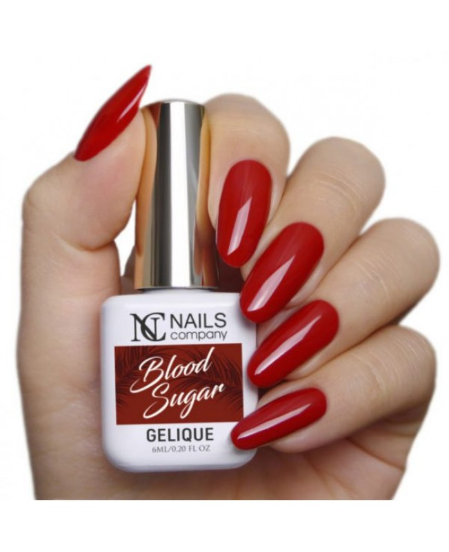 Nc Nails Ημιμόνιμα Χρώματα Blood Sugar 6ml