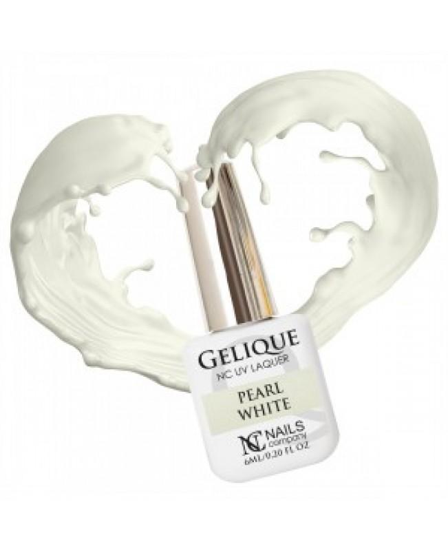 Nc Nails Ημιμόνιμα Χρώματα Pearl White Διάφανο Γαλλικού 6ml