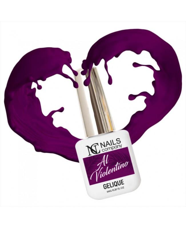 Nc Nails Ημιμόνιμα Χρώματα Al Violentino 6ml