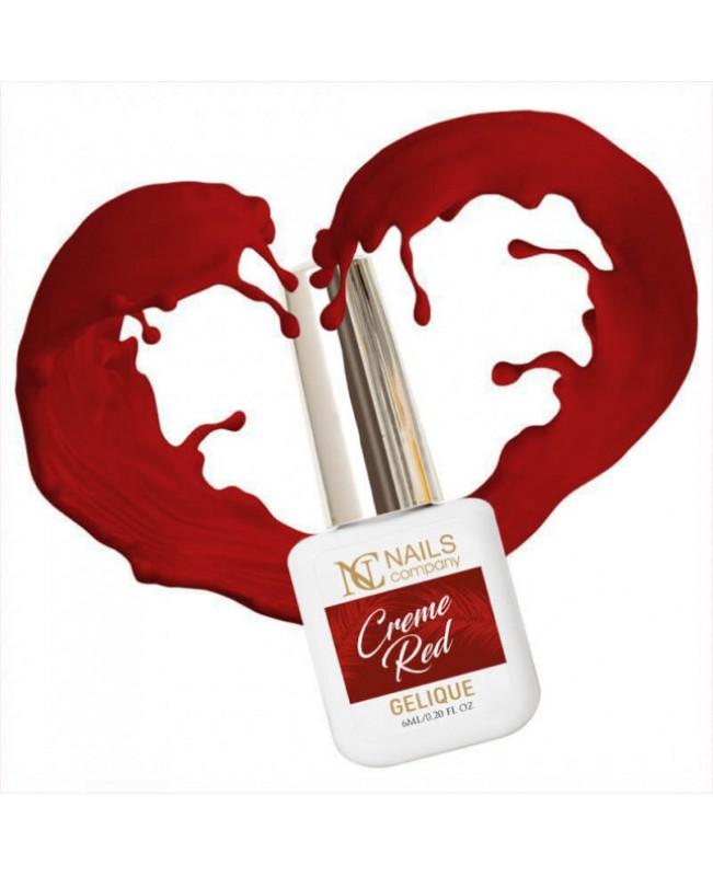 Nc Nails Ημιμόνιμα Χρώματα Creme Red 6ml