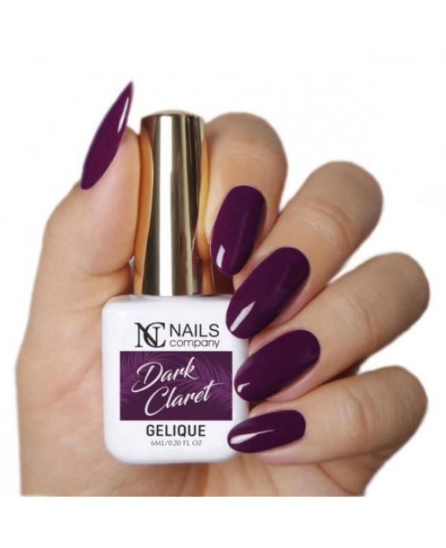 Nc Nails Ημιμόνιμα Χρώματα Dark Claret 6ml