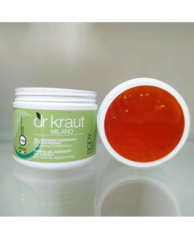 Dr Kraut Milano Thermo Cellulite Bandages Gel with Red Chilli Pepper 500ml