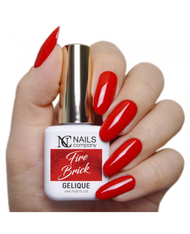 Nc Nails Ημιμόνιμα Χρώματα Fire Brick 6ml