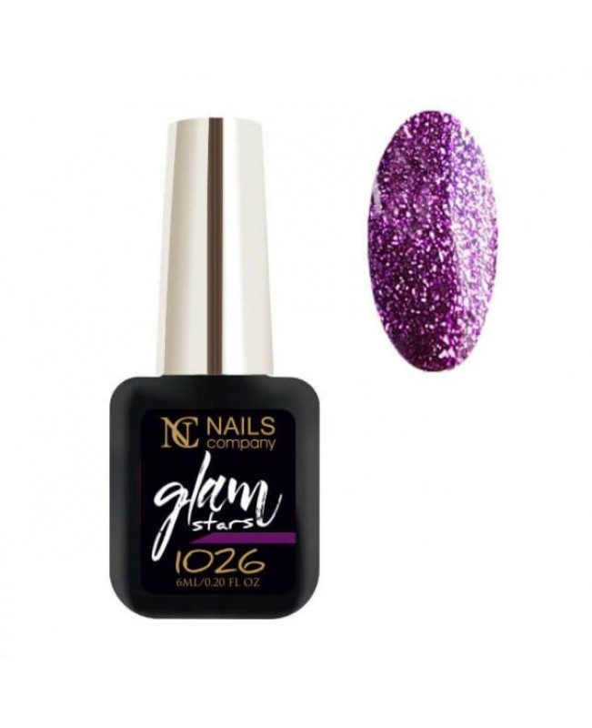 Nc Nails Ημιμόνιμα Χρώματα Glam Stars 1026 6ml