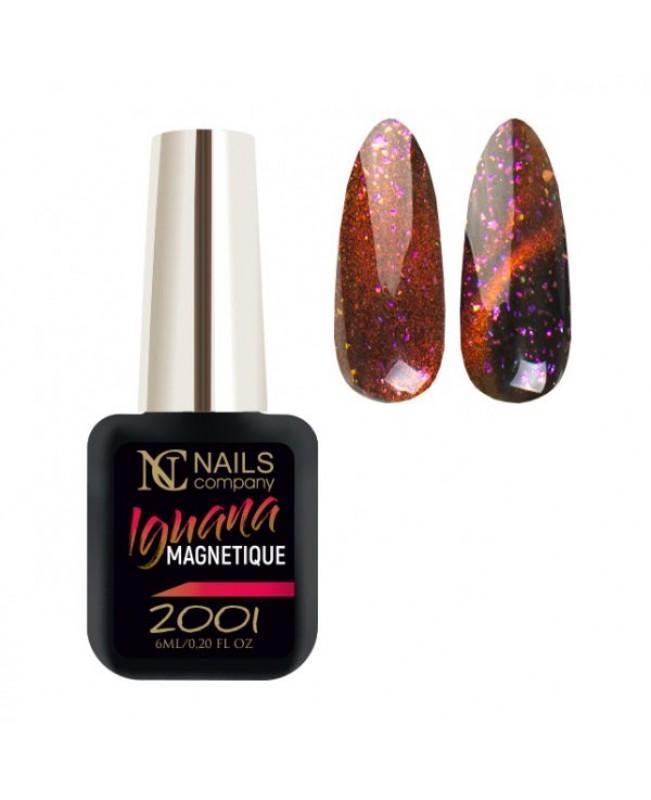 Nc Nails Ημιμόνιμα Μαγνητικά Χρώματα IGUANA 2001 6ml