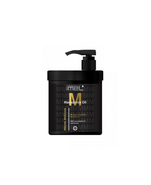 Imel Hair Mask Macadamia Oil and Keratin 1000ml