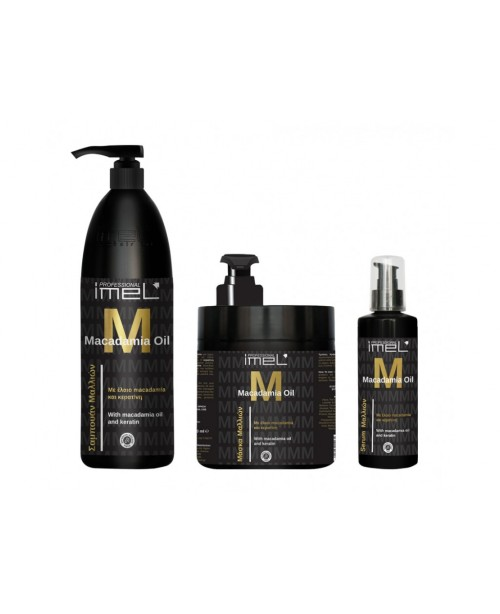 Imel Macadamia Oil and Keratin Set