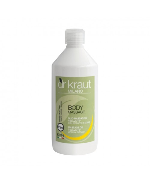 Dr Kraut Milano Massage Oil Cellulite with Ivy Ext...