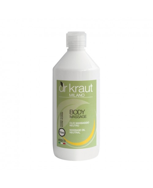 Dr Kraut Milano Massage Oil Natural 500ml