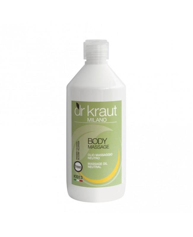 Dr Kraut Milano Massage Oil Natural 500ml