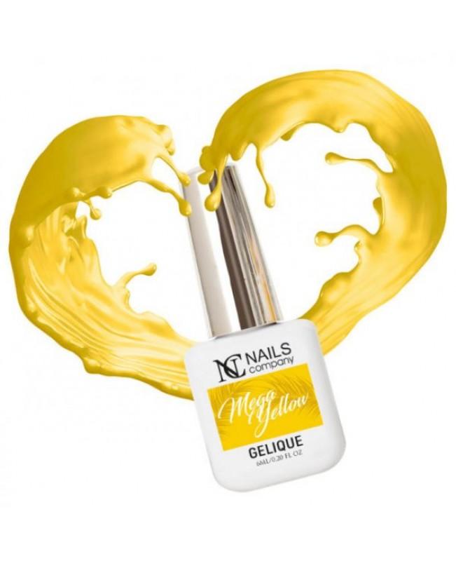 Nc Nails Ημιμόνιμα Χρώματα Mega Yellow 6ml