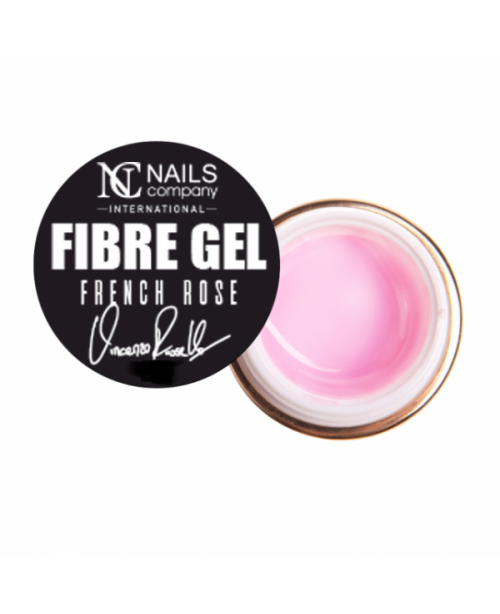 NC Nails Fibre Gel French Rose 15gr